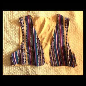 Fantastic Vintage Reversible Crop Top Vest